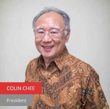 Presiden Persatuan Peranakan Singapura, Baba Colin Chee. Gambar: Laman web Peranakan.org.sg