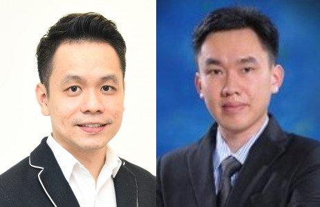 (Kiri) Dr Raymond Choy (Kanan) Tan Aik Keong